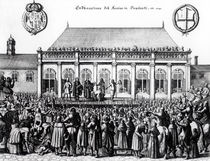 Execution of Charles I at Whitehall von German School