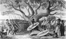 Dance of the Landeens, or Zulus von English School