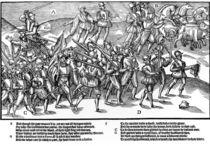 The English soldiers return in triumph by Friedrich van Hulsen