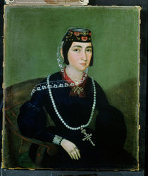 Portrait of Princess Salome Chavchavadze by Russian School