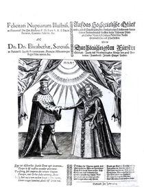 Marriage of Princess Elizabeth and Elector Palatine Frederick V by German School