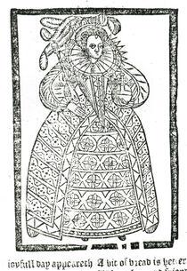 Elizabeth I von English School