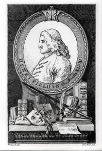 Henry Fielding at the Age of Forty Eight by William Hogarth