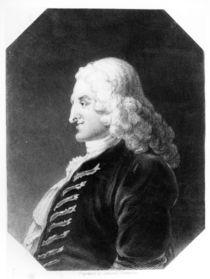 Henry Fielding engraved by Samuel Freeman von William Hogarth