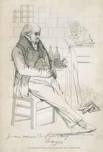 Pierre-Jean de Beranger by Joseph Yeager