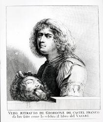 Self Portrait as David von Giorgione