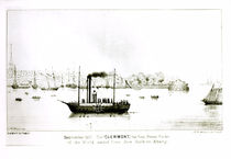 The 'Clermont', the first Steam Packet by J.H. Sherwin