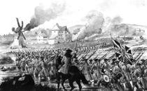 The Battle of Blenheim in 1704 von English School