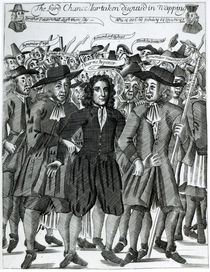 The Arrest of Judge Jeffreys 1689 von English School