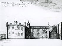 The Parliament House in Edinburgh by Wenceslaus Hollar