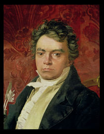 Portrait of Ludwig Van Beethoven von Italian School
