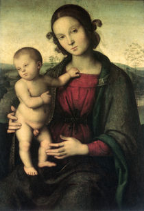 Madonna and Child, c.1495 by Pietro Perugino