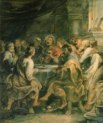 The Last Supper, c.1630-31 von Peter Paul Rubens