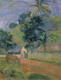 Landscape, 1899 by Paul Gauguin