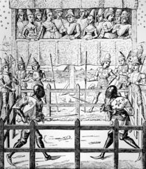 Trial by Ordeal - The Combat by English School