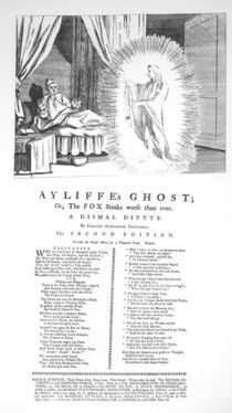 Ayliffe's Ghost: Or the Fox Stinks Worse than Ever von English School