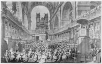 Thanksgiving at St. Paul's for George III's Recovery from Illness von Edward Dayes
