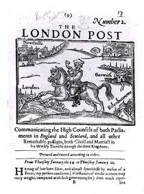 Titlepage of 'The London News' von English School