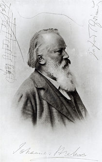 Johannes Brahms von German School