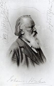 Johannes Brahms by German School