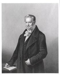 Portrait of Baron Alexander von Humboldt by German School