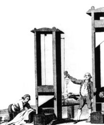 The Guillotine by French School