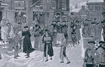 Christmas Morning in Old New York Before the Revolution by Howard Pyle