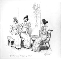 'Offended two or three young ladies' by Hugh Thomson