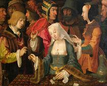 The Fortune Teller von Lucas van Leyden