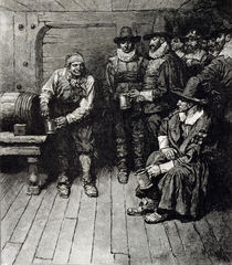 'The Master Caused us to have some Beere' by Howard Pyle