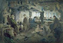 The Strict School Master, 1868 by William Jabez Muckley
