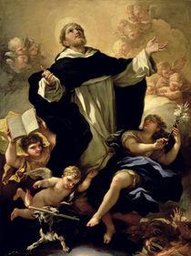 St. Dominic, 1170-1221 von Luca Giordano