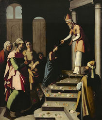 Presentation of the Virgin in the Temple von Francisco de Zurbaran