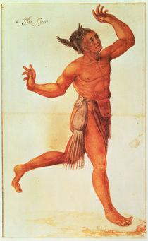 Indian Conjuror von John White