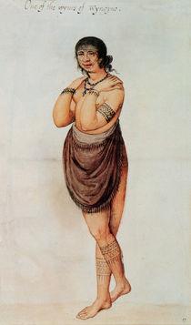 Indian Woman von John White