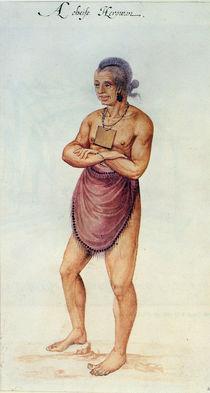 Indian Elder or Chief von John White