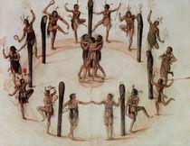 Indians Dancing von John White