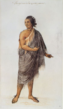 Old Indian Man von John White