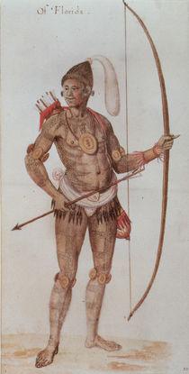 Indian Man of Florida by John White