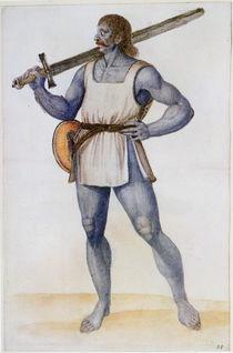 Ancient British Man von John White