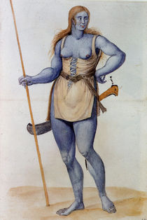 Ancient British Woman by John White