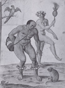 Brazilian Indians Dancing von John White