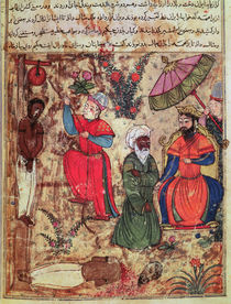 Fol.100 The Sultan Showing Justice von Islamic School