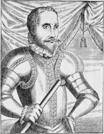 Portrait of Pedro de Valdibia by English School