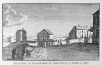 Reception of Washington at Trenton by American School