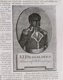 Portrait of Jean-Jacques Dessalines by American School