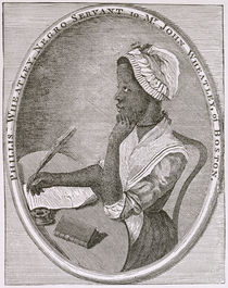 Portrait of Phillis Wheatley by American School