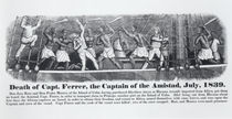Death of Captain Ferrer, the Captain of the Amistad by American School