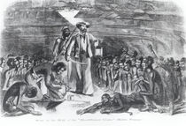 Scene in the Hold of the Slave Ship by American School