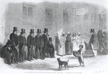 A Slave-Pen at New Orleans - Before the Auction by American School